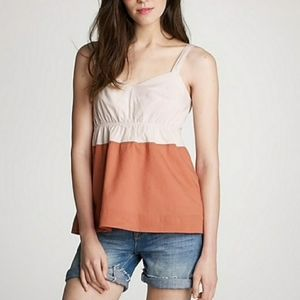 J. Crew Tops - J. Crew Katie Colorblock Cotton Cami NWOT